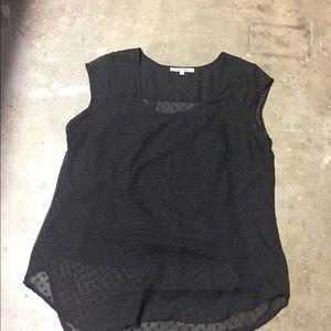 Daniel Rainn black blouse.  Large